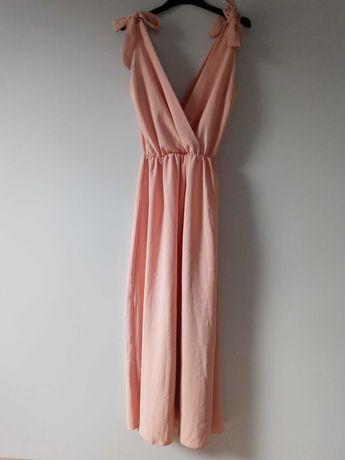 Morelowa sukienka maxi New Collection XS/S/M/L