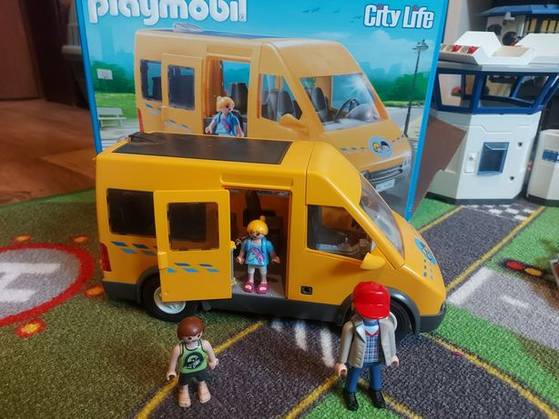 Playmobil city life autobus 6866