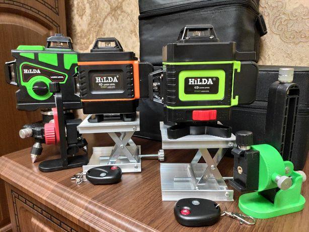 Лазерный уровень Bosch DeWalt Hilda 3D и 4D