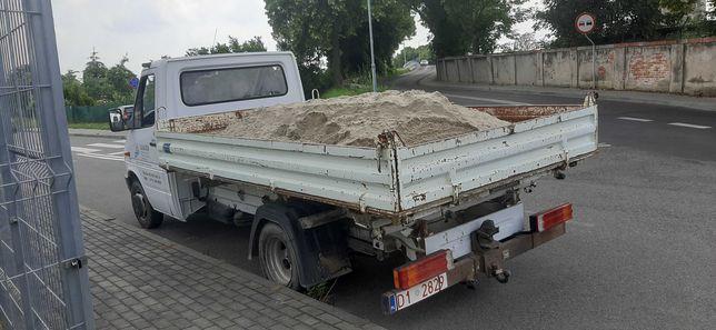 Transport-Sprzedaż - Piasek-Kruszywa Drogowe-Zwir Oleśnica i okolice