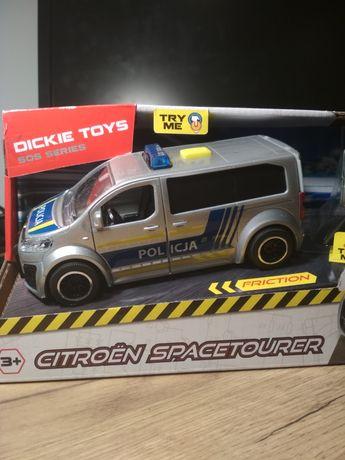 Zabawka samochód policyjny Citroen Spacetourer Dickie Toys