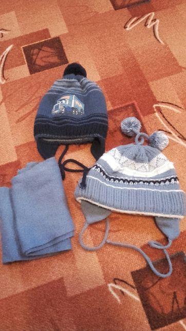 Komplet zimowy,czapka,szalik