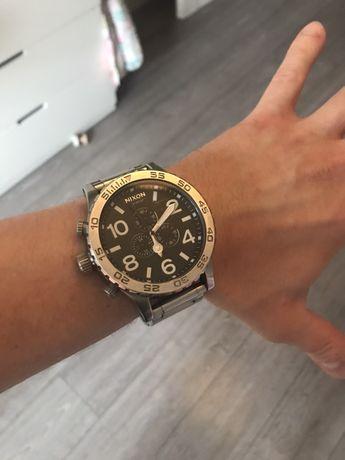 Zegarek nixon 51-30 chrono stal nierdzewna