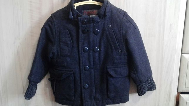 Куртка, пальто демисезонная весна осень на мальчика 9-12 месяцев