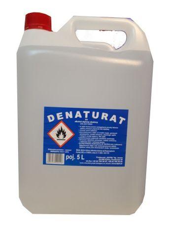 Denaturat 90% alkohol etylowy rozpuszczalnik 5l