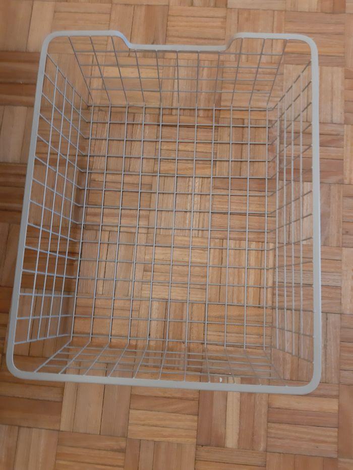 Cesto Ikea Pax em metal (modelo antigo) Algés, Linda-A-Velha E Cruz Quebrada-Dafundo - imagem 1