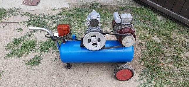 Kompresor sprężarka 20l C330 1.5KW na prąd, regulator SPRAWNA !