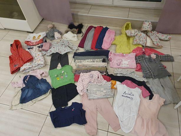 Ubrania Mega Paczka dla dziewczynki 74-80!!!
