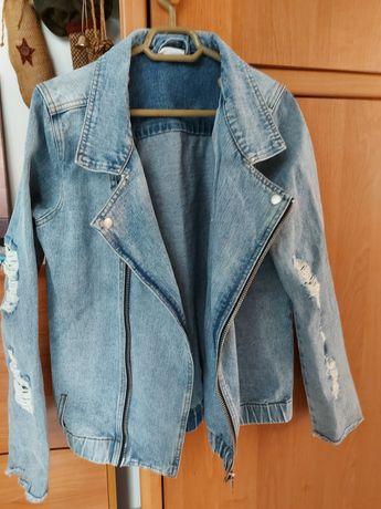 Куртка джинсовая М размер новая.
