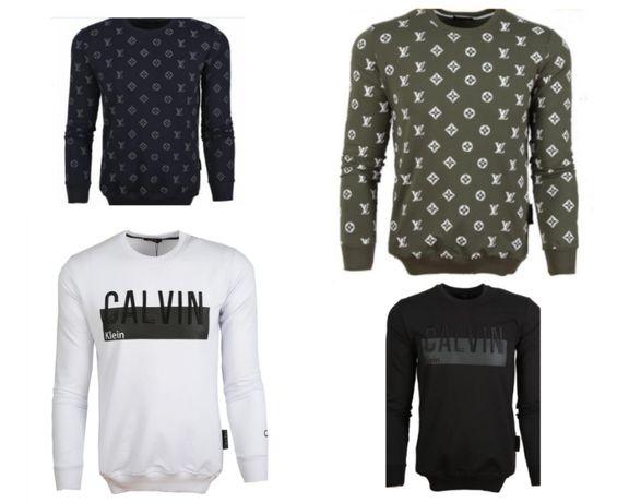 Свитшоты мужские Calvin Klein, Luois Vuitton