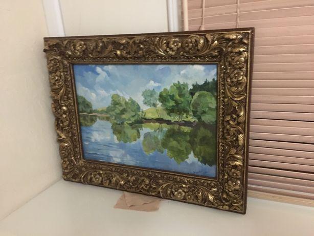 Картина маслом у Рики художника Шевченко в очень красивой и качественн