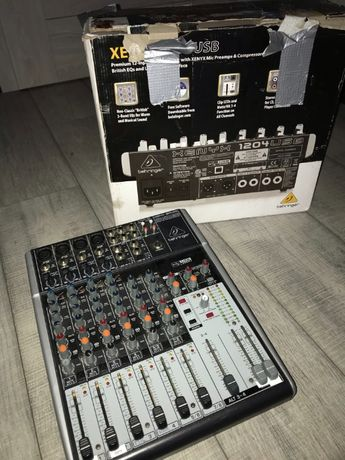 Mikser Behringer Xenyx 1204 USB + Kable (Pioneer / Denon)