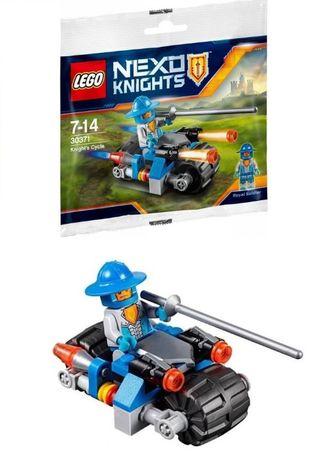 Новый. Конструктор Lego Nexo Knights - Королевский мотоцикл рыцаря