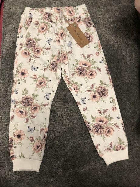 Spodnie newbie nowe 104