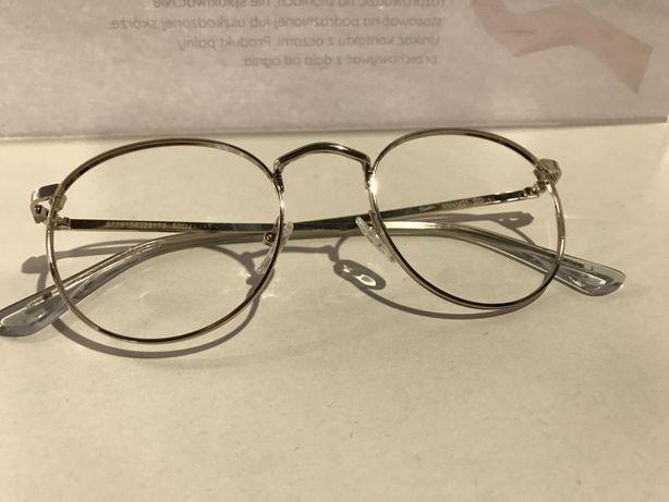 Okulary, oprawki Seen złote