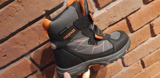 Buty zimowe, śniegowce dziecięce  Trespass rozmiar 31 i