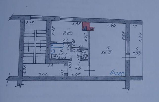 Продам однокомнатную квартиру в пгт Гуты