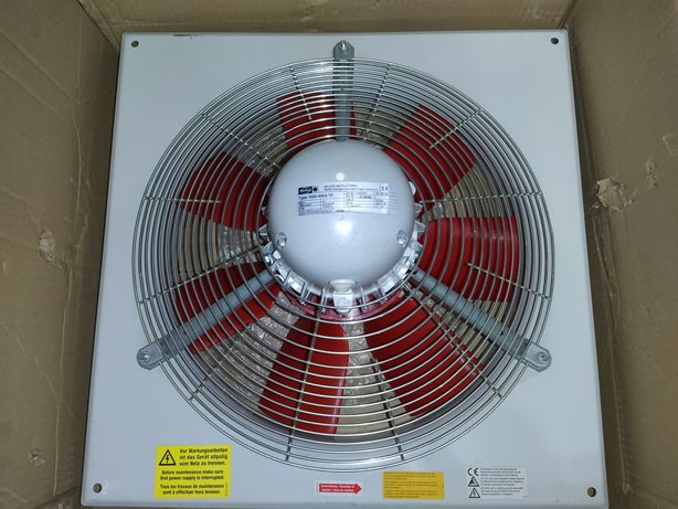 Высокомощный осевой вентилятор HELIOS HQD 400/4 TK