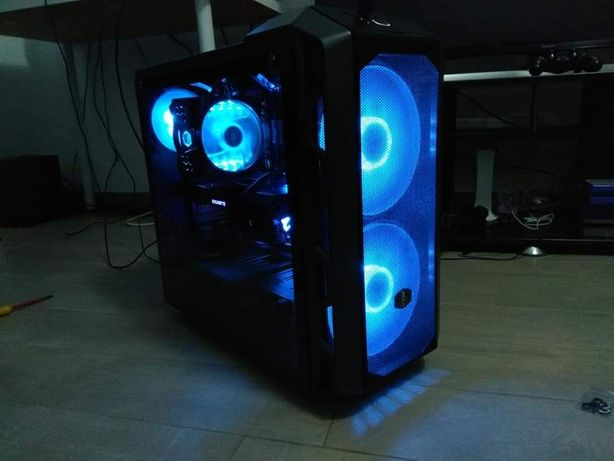 Computador Gaming Intel9600k falta só a gráfica.