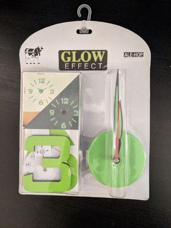 Relógio de Parede Fluorescente