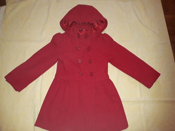 Польто на 4-6лет пальто