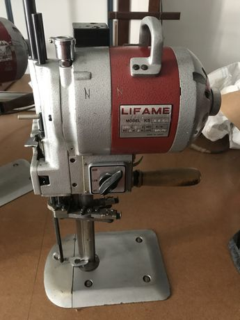 Maquina corte de tecido industiral