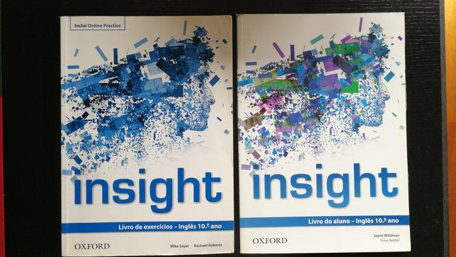 Insight 10 Manual e caderno atividades Inglês