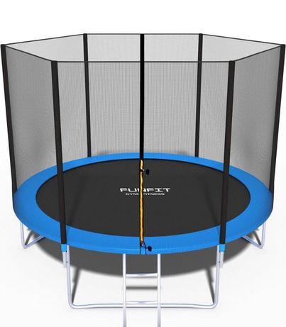 Батут детский садовый FunFit, 183 см, 252 см, 312 см, 374 см!Оригинал!