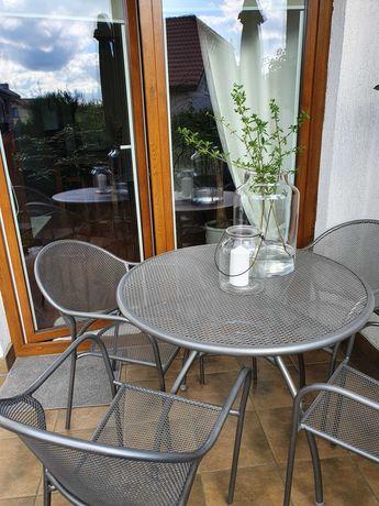 Komplet mebli ogrodowych, balkonowych z  poduszkami.  KOMPLET NOWY