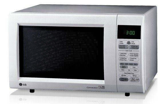 Микроволновая проф. печь с грилем с индукцией LG MC7644AT 26л.