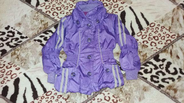 Куртка демисезонная на 2-4 года