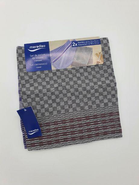 Комплект кухонних рушників 2 шт. 50 х 70 см Meradiso, кухонные полотен
