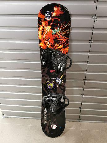 Deska snowboardowa Nidecker 127cm + wiązania