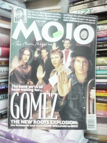 MOJO The Music Magazine 61/1998