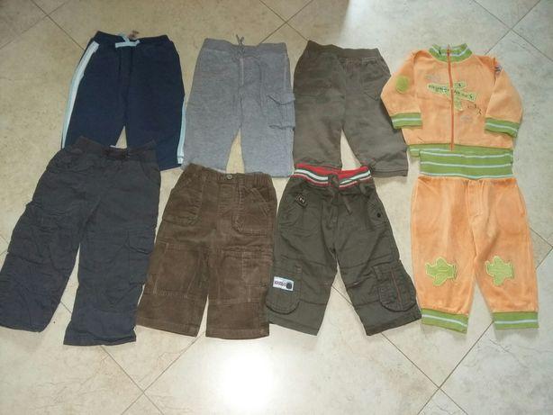 Paka ubrań dla chłopca roz 74-80
