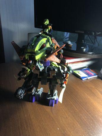 Лего робот змея пират