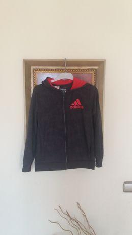 casaco Adidas MB condição unisexo 13-14 anos cinzento escura