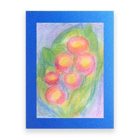 kolorowy obrazek do pokoju,kwiaty rysunek, ładny rysunek z kwiatami sz