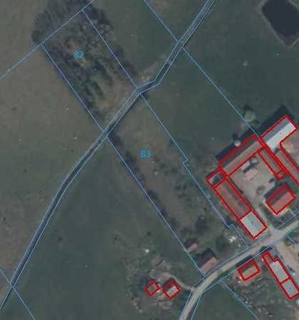 Działka-siedlisko-stary dom na 80 arach-mazury-Kowale Oleckie