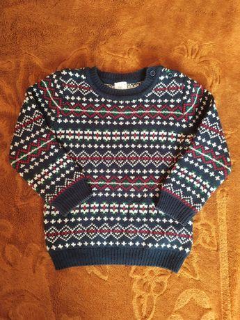 Śliczny sweterek dla chłopca F&F