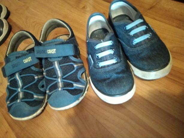 Sandały i trampki na gumkę r. 26