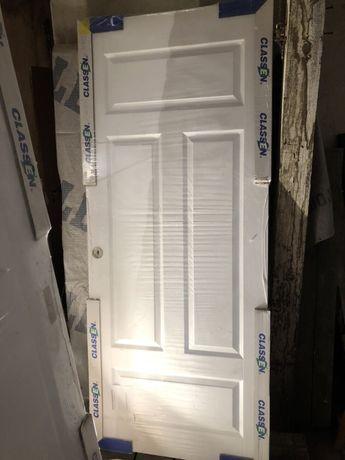Drzwi przesuwne Classen 80 lewe, białe- nowe