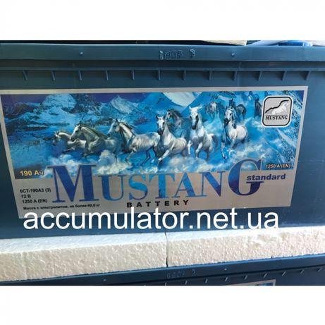 Аккумуляторы MUSTANG 190-1250