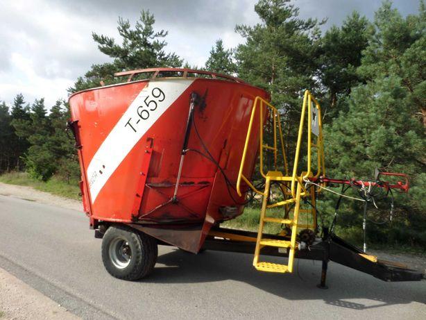 Wóz paszowy paszowóz Metal- Fach T659