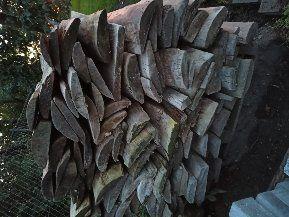 Deski na płot, ogrodzenie, podbitke, pomost, opał.Grube, solidne 90 cm