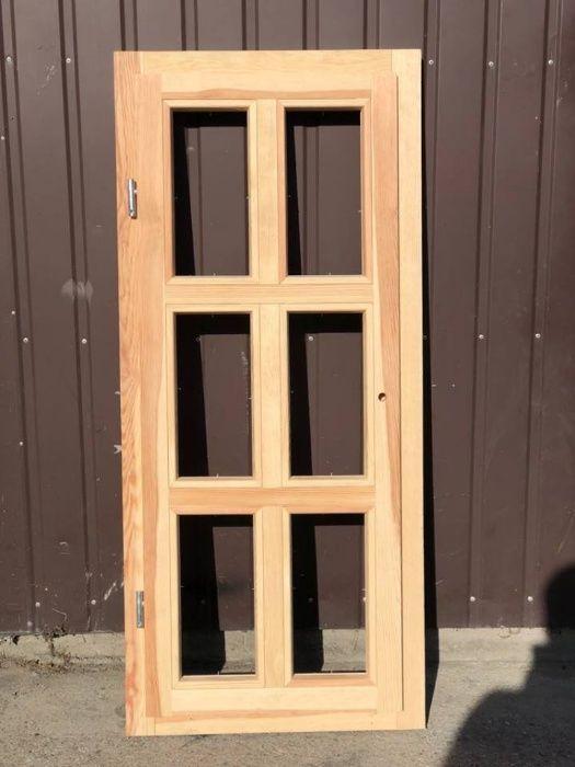 okno drewniane 60x135cm