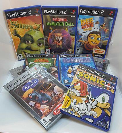 Pack 9 Jogos para Playstation 2   **OFERTA de envio**