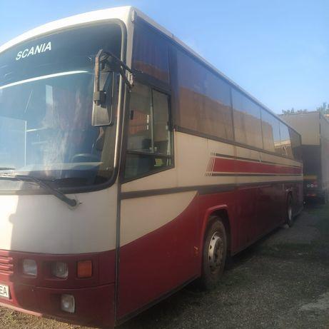 Автобус SKANIA в рейсовом состоянии