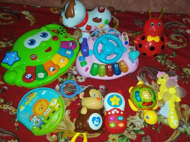 Продам игрушки музыкальные