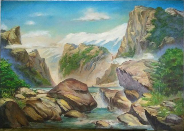 Продам картину 1998года,очень большую